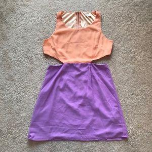 ⭐️3 for$20⭐️NWOT TOBI Cut-out waist Dress